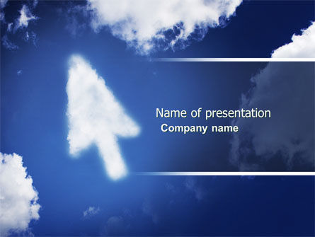 Technology and Science: Cursor PowerPoint Template #04225