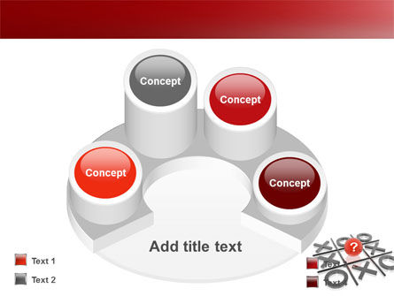 Tic-tac-toe PowerPoint Template Slide 12