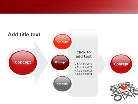 Tic-tac-toe PowerPoint Template Slide 17