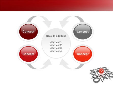 Tic-tac-toe PowerPoint Template Slide 6