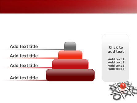 Tic-tac-toe PowerPoint Template Slide 8