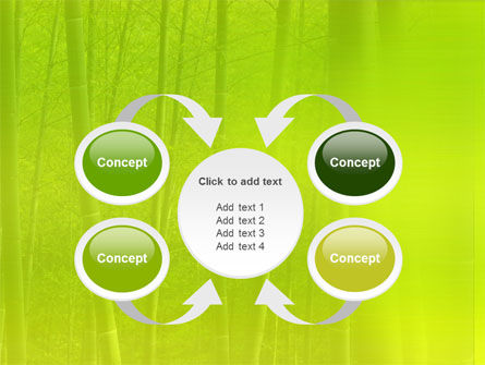 Bamboo Grove PowerPoint Template Slide 6