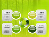 Bamboo Grove PowerPoint Template#9
