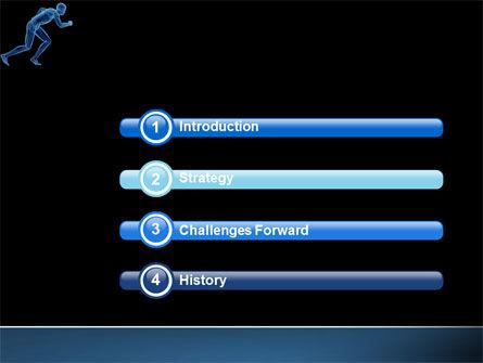 Start Position PowerPoint Template, Slide 3, 04229, Sports — PoweredTemplate.com