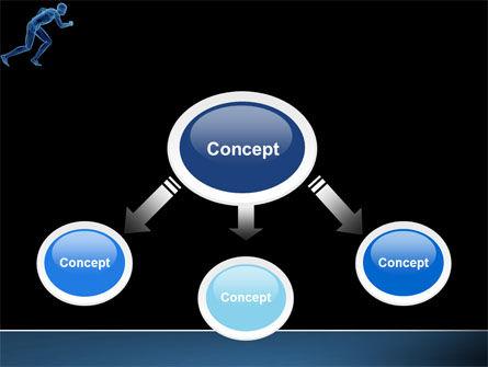 Start Position PowerPoint Template, Slide 4, 04229, Sports — PoweredTemplate.com