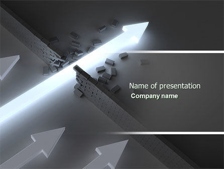 Blowout PowerPoint Template
