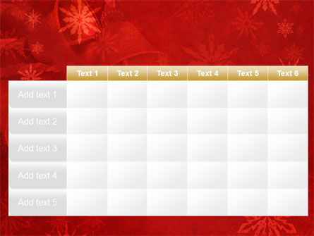 Christmas Bells PowerPoint Template Slide 15