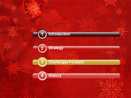Christmas Bells PowerPoint Template, Slide 3, 04233, Holiday/Special Occasion — PoweredTemplate.com