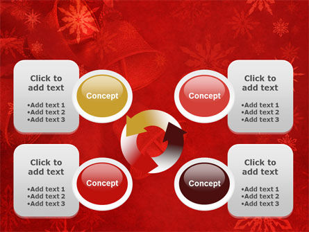 Christmas Bells PowerPoint Template Slide 9