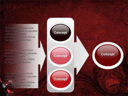 Wine Glass PowerPoint Template Slide 11