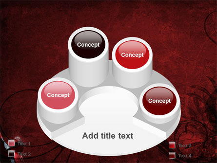 Wine Glass PowerPoint Template Slide 12