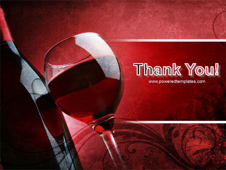 Wine Glass PowerPoint Template Slide 20