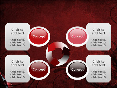 Wine Glass PowerPoint Template Slide 9
