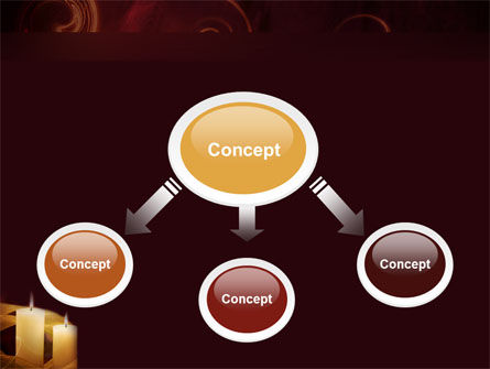 Candle Light PowerPoint Template Slide 4