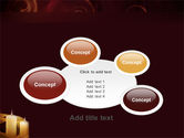 Candle Light PowerPoint Template#16