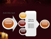 Candle Light PowerPoint Template#17