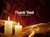 Candle Light PowerPoint Template#20