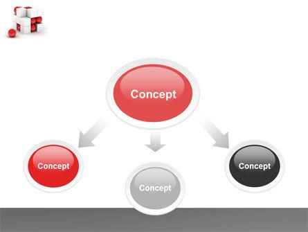 Cubic Structure PowerPoint Template, Slide 4, 04243, Construction — PoweredTemplate.com
