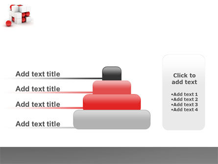 Cubic Structure PowerPoint Template Slide 8