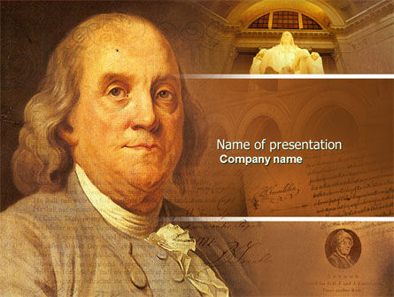 Benjamin Franklin PowerPoint Template