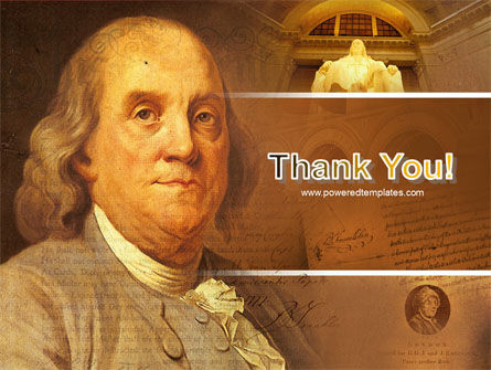 Benjamin Franklin PowerPoint Template Slide 20
