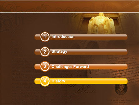 Benjamin Franklin PowerPoint Template Slide 3