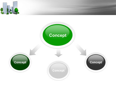 Plan Of Gardening District PowerPoint Template Slide 4