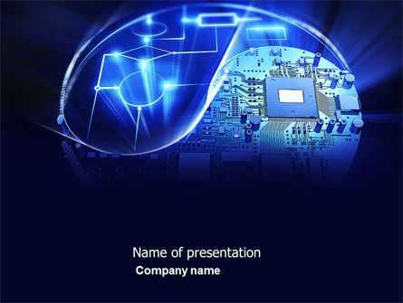Hardware Development PowerPoint Template, 04249, Technology and Science — PoweredTemplate.com