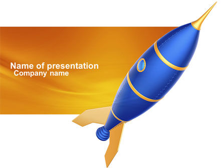 Jet Propulsion PowerPoint Template, 04250, Technology and Science — PoweredTemplate.com