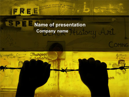 Art & Entertainment: Human Rights PowerPoint Template #04254