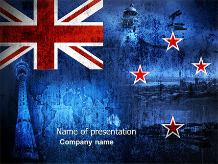 New zealand powerpoint template backgrounds 04258 new zealand powerpoint template toneelgroepblik Choice Image