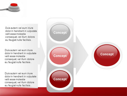 Panic Button PowerPoint Template Slide 11