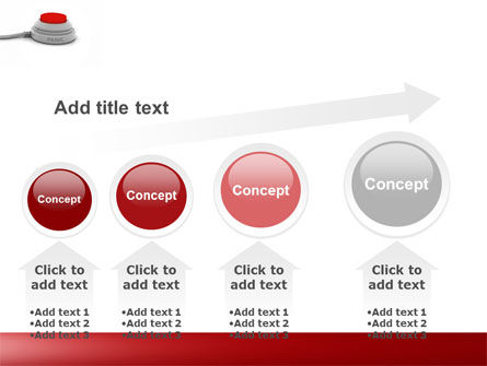 Panic Button PowerPoint Template Slide 13