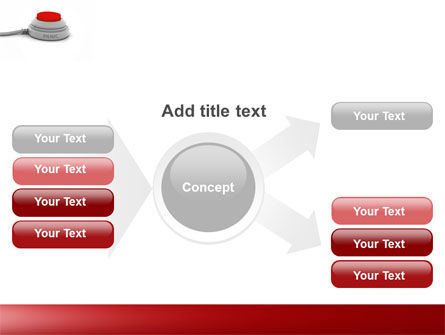 Panic Button PowerPoint Template Slide 14