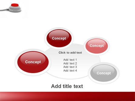 Panic Button PowerPoint Template Slide 16