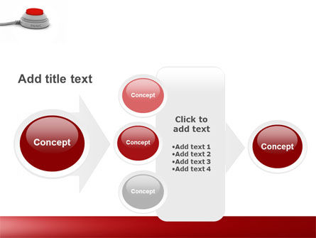 Panic Button PowerPoint Template Slide 17