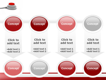 Panic Button PowerPoint Template Slide 18