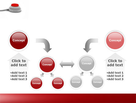 Panic Button PowerPoint Template Slide 19
