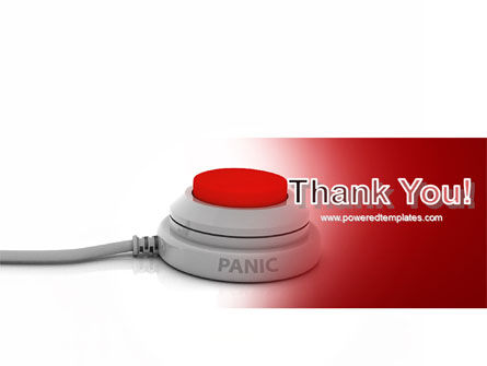 Panic Button PowerPoint Template Slide 20