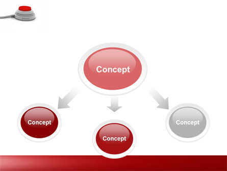 Panic Button PowerPoint Template, Slide 4, 04259, General — PoweredTemplate.com