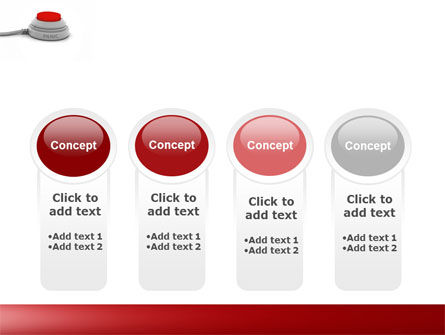 Panic Button PowerPoint Template Slide 5