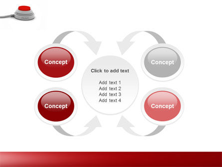 Panic Button PowerPoint Template Slide 6