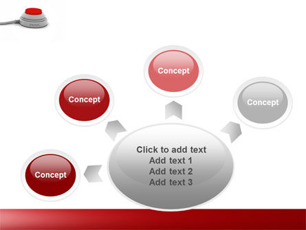 Panic Button PowerPoint Template Slide 7