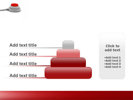 Panic Button PowerPoint Template Slide 8