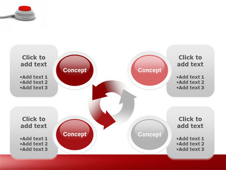 Panic Button PowerPoint Template Slide 9