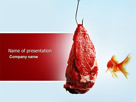 Bait PowerPoint Template, 04262, Consulting — PoweredTemplate.com