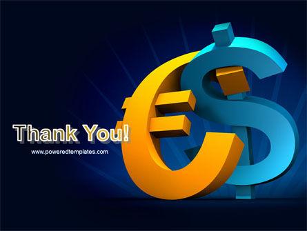 Euro vs. Dollar PowerPoint Template Slide 20