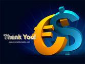 Euro vs. Dollar PowerPoint Template#20