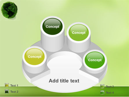 Green Land PowerPoint Template Slide 12