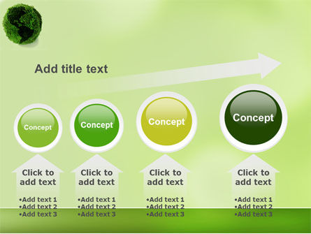 Green Land PowerPoint Template Slide 13